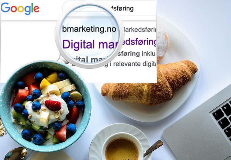 Bli funnet på Google - gratis SEO frokostseminar